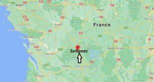 Où se trouve Solignac
