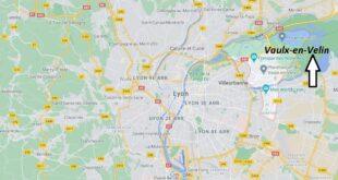 Où se trouve Vaulx-en-Velin