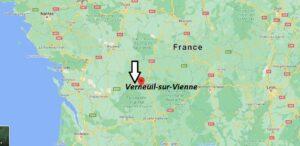 Où se trouve Verneuil-sur-Vienne