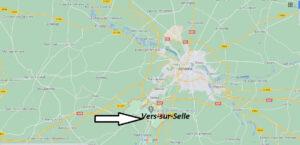 Où se trouve Vers-sur-Selles