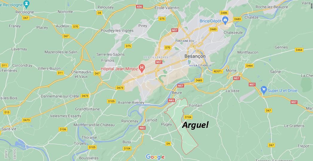 Dans quelle région se trouve Arguel