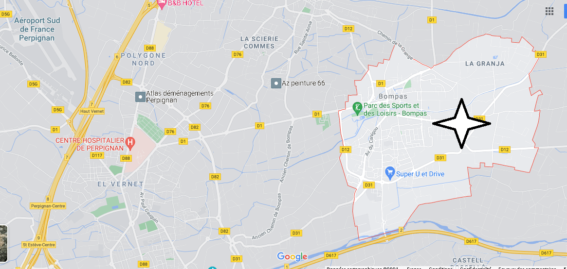 Dans quelle région se trouve Bompas