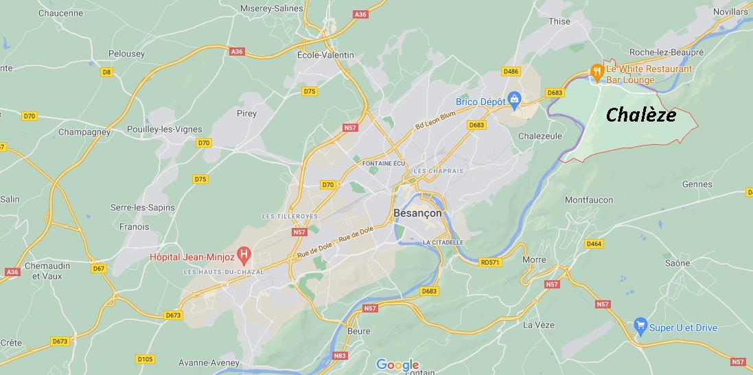 Dans quelle région se trouve Chalèze