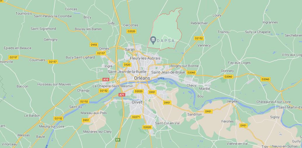 Dans quelle région se trouve Chanteau