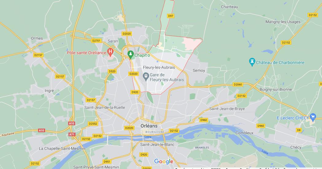 Dans quelle région se trouve Fleury-les-Aubrais