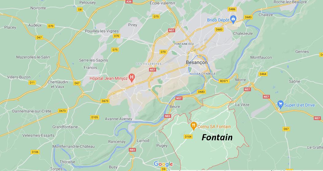 Dans quelle région se trouve Fontain