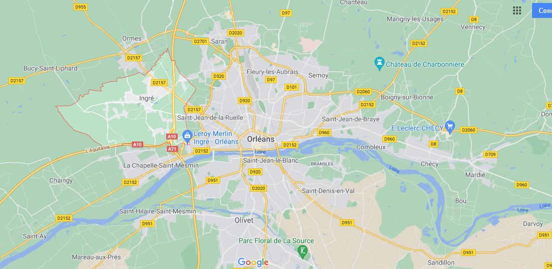 Dans quelle région se trouve Ingré