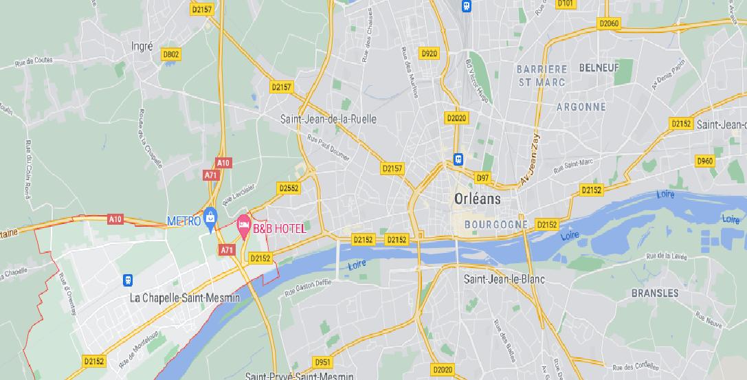 Dans quelle région se trouve La Chapelle-Saint-Mesmin
