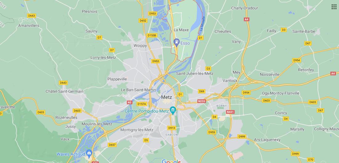 Dans quelle région se trouve La Maxe