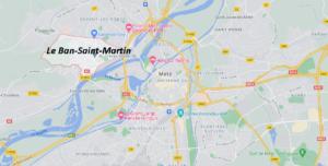 Dans quelle région se trouve Le Ban-Saint-Martin