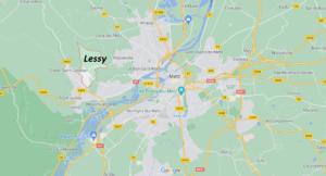 Dans quelle région se trouve Lessy