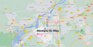 Dans quelle région se trouve Montigny-lès-Metz
