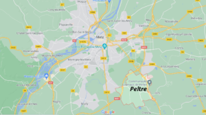 Dans quelle région se trouve Peltre