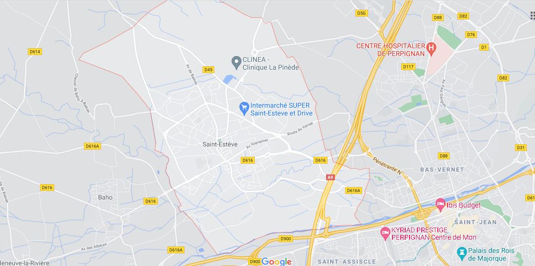 Dans quelle région se trouve Saint-Estève