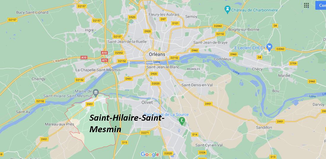 Dans quelle région se trouve Saint-Hilaire-Saint-Mesmin