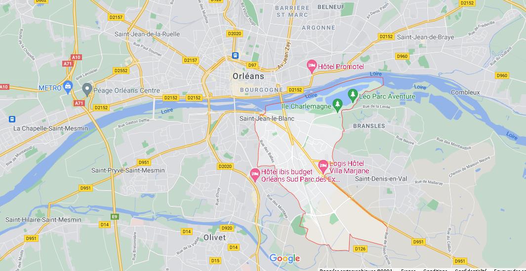 Dans quelle région se trouve Saint-Jean-le-Blanc