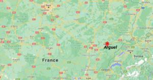 Où se situe Arguel (Code postal 25720)