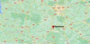 Où se situe Chanteau (Code postal 45400)
