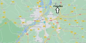Où se situe Chieulles (Code postal 57070)