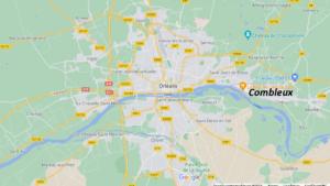 Où se situe Combleux (Code postal 45800)