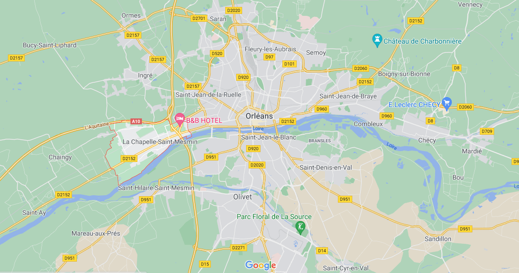 Où se situe La Chapelle-Saint-Mesmin (Code postal 45380)