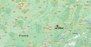 Où se situe La Vèze (Code postal 25660)