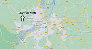 Où se situe Lorry-lès-Metz (Code postal 57050)
