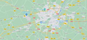 Où se situe Louvigny (Code postal 14111)