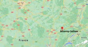 Où se situe Miserey-Salines (Code postal 25480)