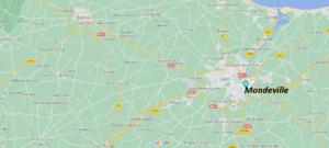 Où se situe Mondeville (Code postal 14120)