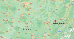 Où se situe Montfaucon (Code postal 25660)