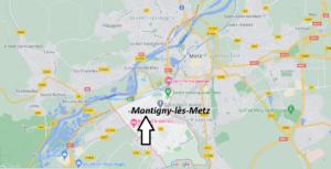 Où se situe Montigny-lès-Metz (Code postal 57950)