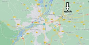 Où se situe Nouilly (Code postal 57645)