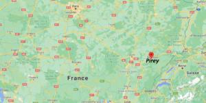 Où se situe Pirey (Code postal 25480)