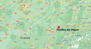 Où se situe Pouilley-les-Vignes (Code postal 25115)