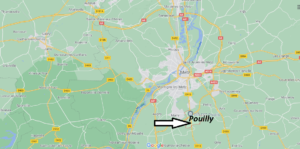 Où se situe Pouilly (Code postal 57420)
