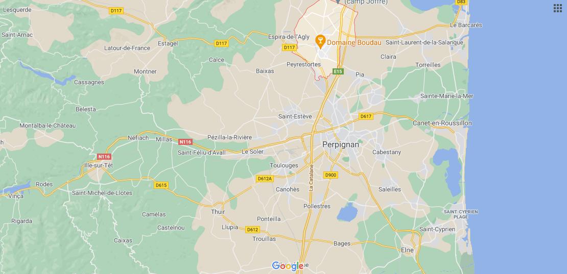 Où se situe Rivesaltes (Code postal 66600)