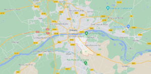 Où se situe Saint-Jean-le-Blanc (Code postal 45650)