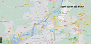 Où se situe Saint-Julien-lès-Metz (Code postal 57070)