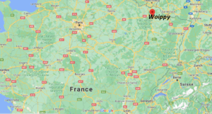 Où se situe Woippy (Code postal 57140)