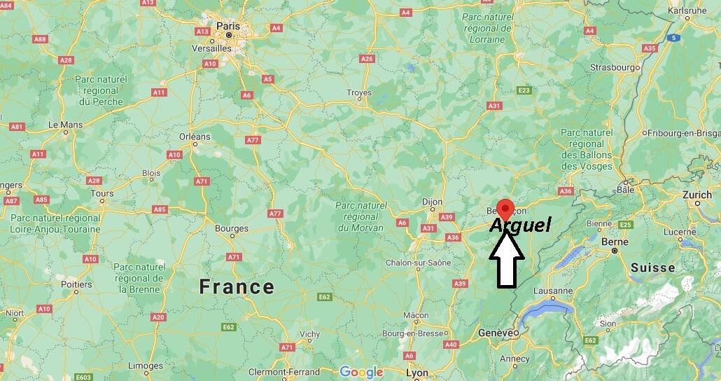 Où se trouve Arguel