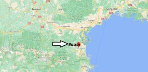 Où se trouve Baixas