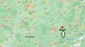 Où se trouve Beure