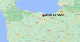 Où se trouve Cambes-en-Plaine