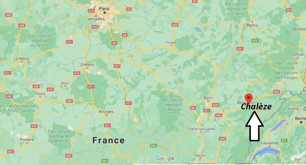 Où se trouve Chalèze