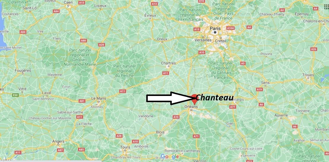 Où se trouve Chanteau