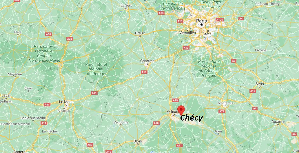 Où se trouve Chécy