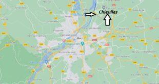 Où se trouve Chieulles