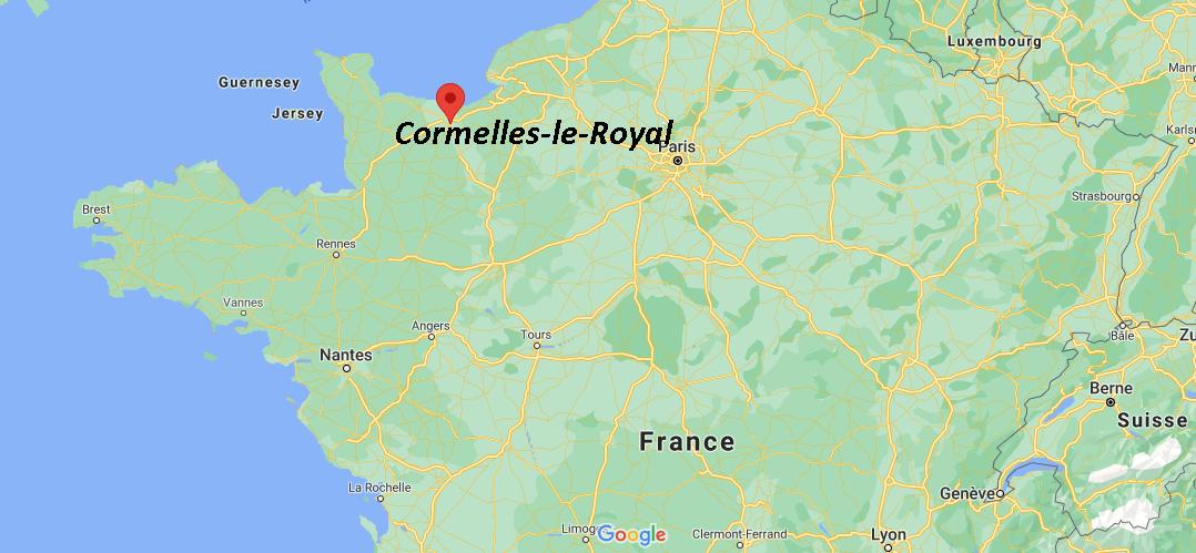Où se trouve Cormelles-le-Royal