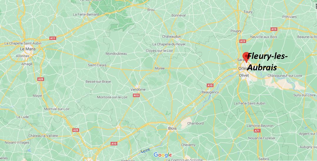 Où se trouve Fleury-les-Aubrais